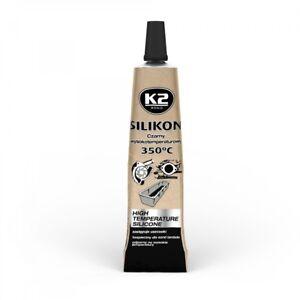 350° Schwarz 300g Schnelle Farbe 6x K2 Silikon Silikon Hochtemperatur Dichtmasse Sonstige