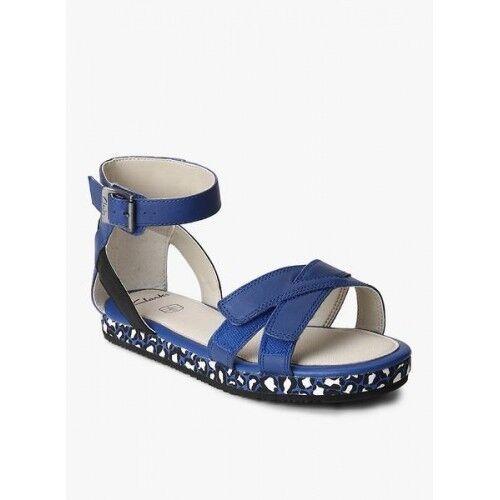 Sandale 5f cuir Clarks Dew bleu en Taille Nouveau Uk Zeps 12 v1qCnw
