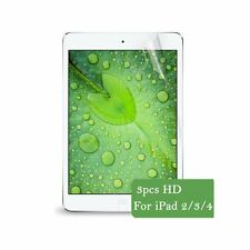3x Premium Clear Screen Protector Protective Film Cover For Apple iPad 2 3 4