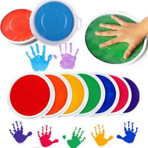 Image Is Loading Non Toxic Baby Safe Ink Pad Painting Fingerprint