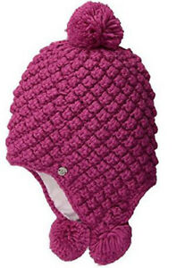 7f05afc304e Image is loading Spyder-Girls-Brrr-Berry-Hat-One-size-NWT