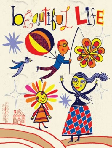 INSPIRATIONAL ART PRINT Beautiful Life II Nate Williams