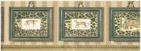 Leopards In Leopard Print Frames In The Jungle Wallpaper Border Wall Decor