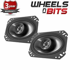 "JBL stage 6402 Pair of 105 Watt 4""x6"" Inch Coaxial Car door Shelf speakers"