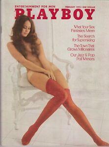Details About Playboy February 1973 A Cyndi Wood Maria Schneider Nude
