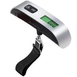 50KG Digital Travel Portable Handheld  Weighing Luggage Scales Suitcase Bag UK