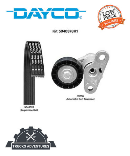 Dayco Serpentine Belt Drive Component Kit P//N:5040378K1