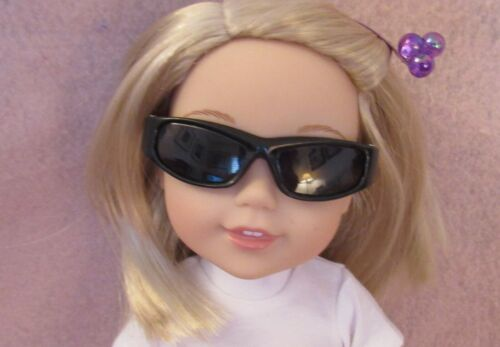 Black Sunglasses for American Girl Wellie Wisher Doll 14.5 Inch Seller lsful