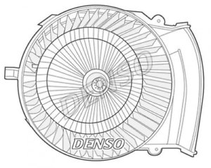 Denso Intérieur Ventilateur de chauffage//ventilation dea07021
