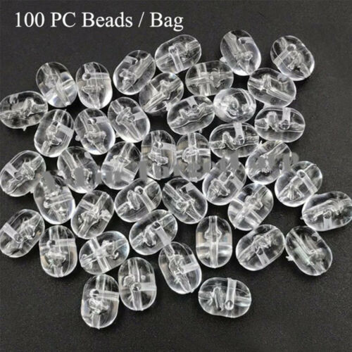 Stopfen Kunststoff Bohrer Double Pearl Schwimmbälle Bälle Angel Cross Beads