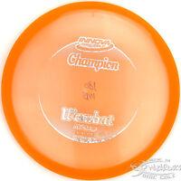 Orange Champion Wombat Midrange 180g Innova Disc Golf Sparkle Stamp Fast