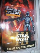 Retired nisp Star Wars Shop.com Exclusive COVERT OPS CLONE TROOPER Ltd Ed figure