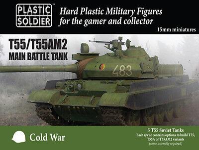 15mm T55/t55am2 Battaglia Principale Serbatoio Modv15001 - Plastica Soldato Domanda Che Supera L'Offerta