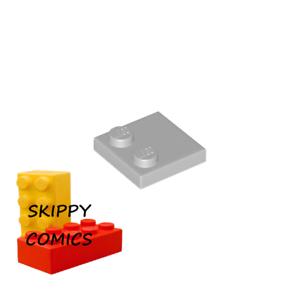 Lego 2x Tile Modified plaque plate lisse 2x2 2 tenon jaune//yellow 33909 NEUF