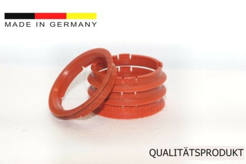 4 anillas de centrado 74,1 x 66,6 mm DBV ProLine plw Schmidt mercedes audi bmw hubring