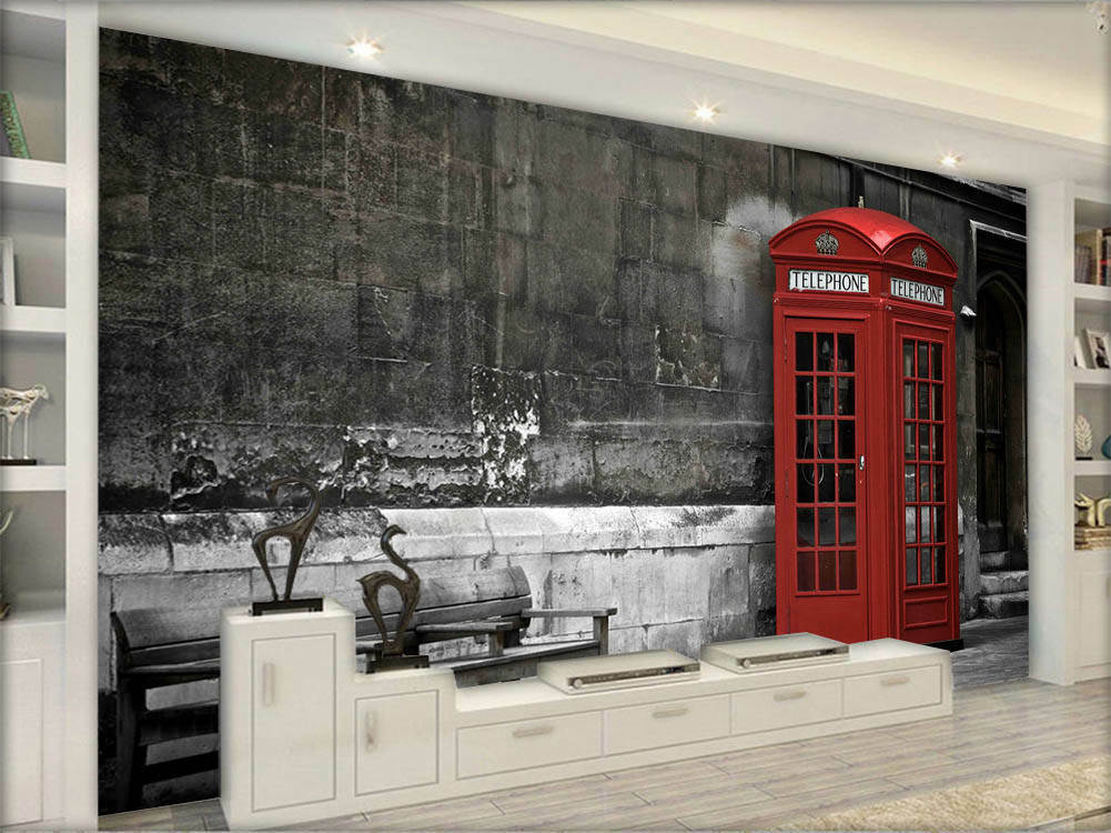 Lonely Focal Mailbox 3D Full Wall Mural Photo Wallpaper Printing Home Kids Decor