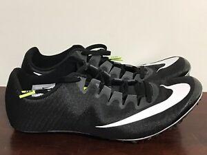 buy online 6ce4c 1d67c Image is loading Men-039-s-Nike-Zoom-Superfly-Elite-Black-