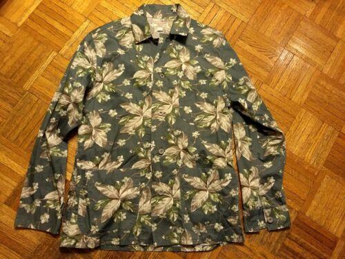 Wallace & Barnes floral chore jacket