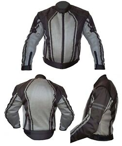 NEW-WARRIOR-Motorcycle-Motorbike-Summer-Mesh-Breathable-CE-Armour-Biker-Jacket