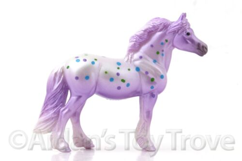 Breyer Fruitcake Fillies Stablemate SR Glossy PURPLE 712277 Decorator Pony