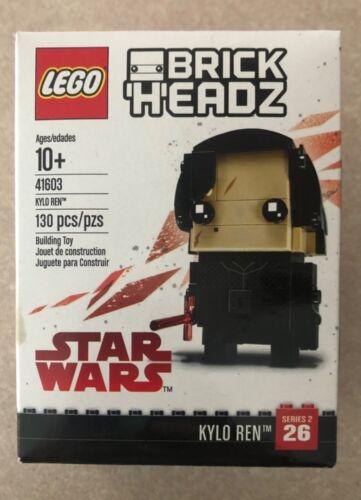 Lego Brick Headz 41603 Kylo Ren Star Wars Disney #26 New Sealed