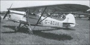 Hirtenberg Hs9 Two Seat Touring Aircraft Mahogany Kiln Dry Wood