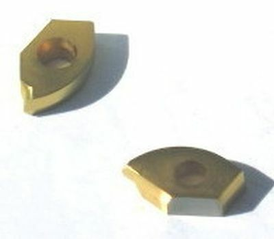 DIJET Carbide Inserts ball nose indexable mill cutter HCB-240LTN JC3552 TIN Coat