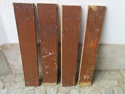 4 Alte Bretter, Holzdielen, Dekobretter, Altholz, Dielenbretter, Fußbodendielen Der Preis Bleibt Stabil