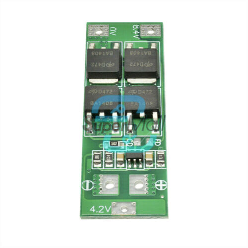 2S 18650 Lithium Li-ion Battery BMS Charger Protection Board Standard 20A