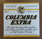 VINTAGE CANADIAN BEER LABEL - LABATTS BREWERY, COLUMBIA EXTRA 341ML #2