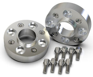 40MM-4X100-57-1MM-HUBCENTRIC-WHEEL-SPACER-KIT-UK-MADE-VW-GOLF-POLO-LUPO-CADDY