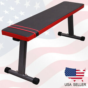 New Weight Training Ab Bench Fitness Gym Workout Portable