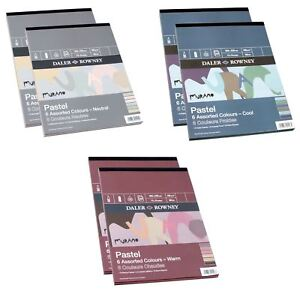 Daler Rowney Murano Pastel Pads 12x9 Cool, Neutral or Warm