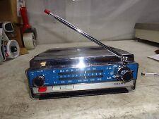 VINTAGE SONY 7F-74W AM/FM 10 TRANSISTOR RADIO PARTS OR REPAIR