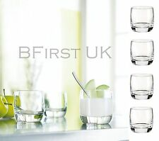 Luminarc Pack of 4 Tumbler Mixer Juice Water Drinking Glass Set Hygienic Gift
