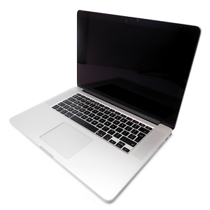 """Apple MacBook Pro A1398 15"""" Mid 2015 - i7-4770HQ 2.20GHz 16GB 256GB OSX 10.13.6"""