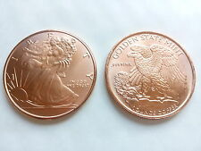 1 oz Copper Coin - Walking Liberty - Golden State Mint!