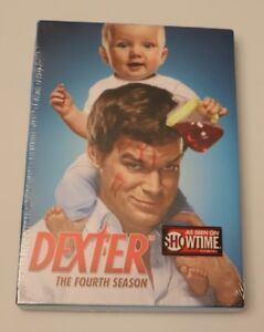 Dexter-The-Fourth-Season-DVD-2010-4-Disc-Set-NEW-UNOPENED