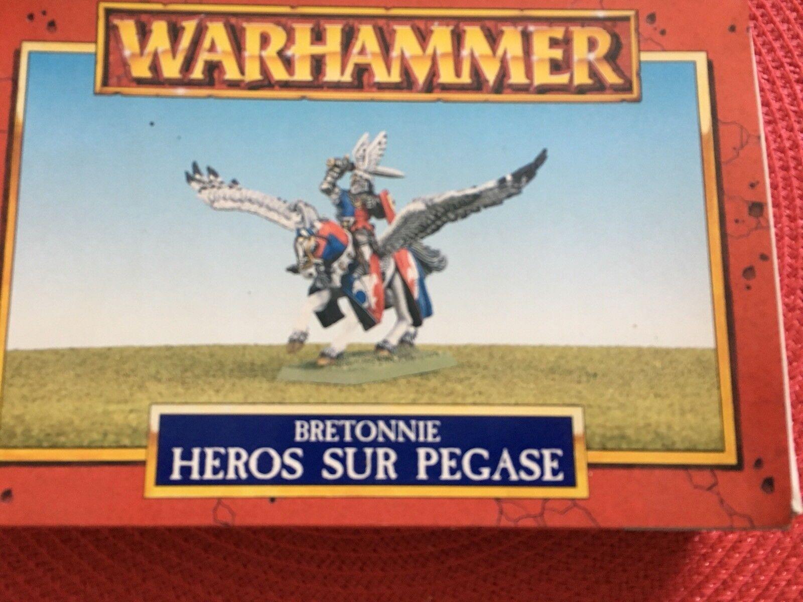 Bretonnia  Hero On Pegasus Fifth Edition OOP