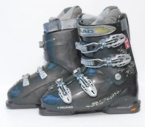 Used Ski Boots >> Head Edge 9 Women S Ski Boots Size 7 5 Mondo 24 5 Used Ebay