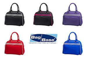 BORSA-BOWLING-RETRO-Fitness-BAG-BASE-poliestere-borsa-VINTAGE-viaggio-SPORT-GYM