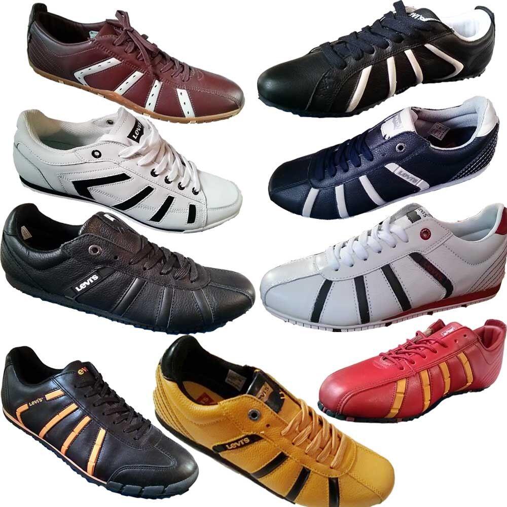 NEU LEVIS Sneaker Levi's Turnschuh 41 42 43 rot 44 45 46 blau rot 43 schwarz weiß gelb 2754a7