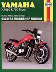 Haynes Repair Service Manual 738 Fits 1983 Yamaha XJ 750 M Midnight Maxim