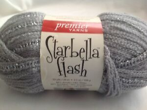 Details about Premier Yarn Starbella Flash - Silver