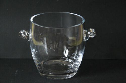 bauchiger Flaschenkühler Weinkühler Sektkühler Glas 6