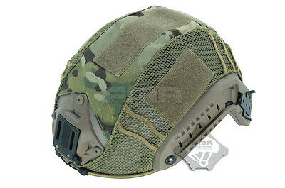 FMA Airsoft Military Paintball Tactical Helmet Cover for Fast Helmet Multicam