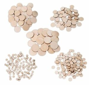 25x Circle Round  Craft Embellishment Mdf Wooden Shape40mm x 40mm