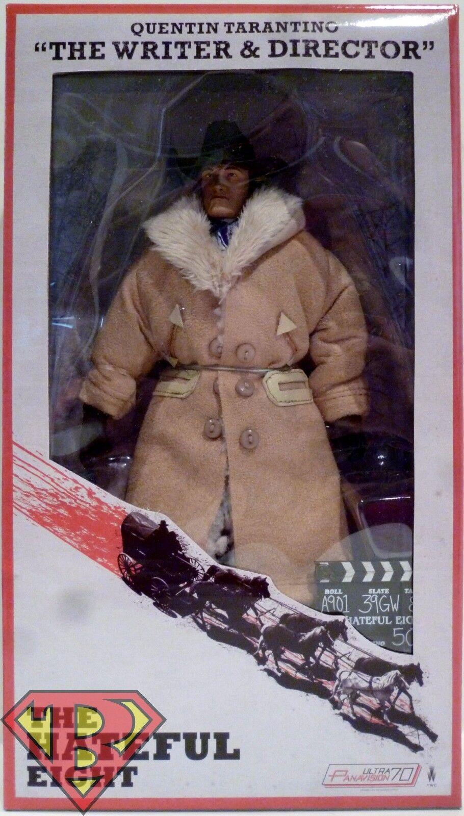 Quentin Tarantino  l' écrivain et directeur de  la haine Huit 8  figurine Neca 2016