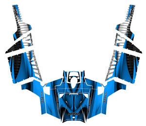 RZR 800 custom graphic kit 2011 2012 2013 2014 Pro Armor Door wrap #1900 Blue