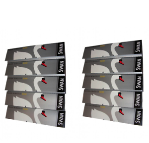 Swan-King-Size-Slim-Rolling-Papers-10-Booklets-Silver-Smoking-Rizla-Multi-Pack